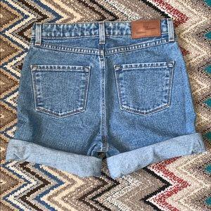 // Frank + Oak Denim Shorts //